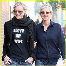 Ellen degeneres and wife wedding