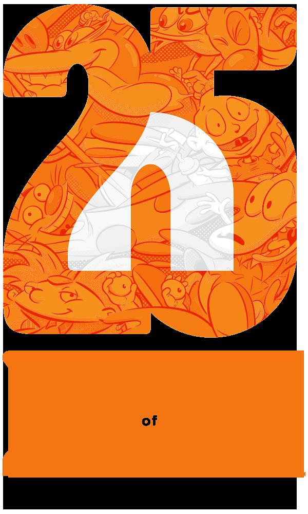 25 years of nickelodeon animation