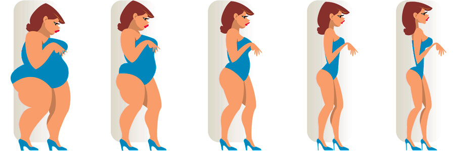 Image showing women of different shapes and sizes