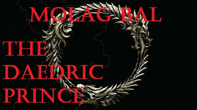 Molag Bal, The Daedric Prince