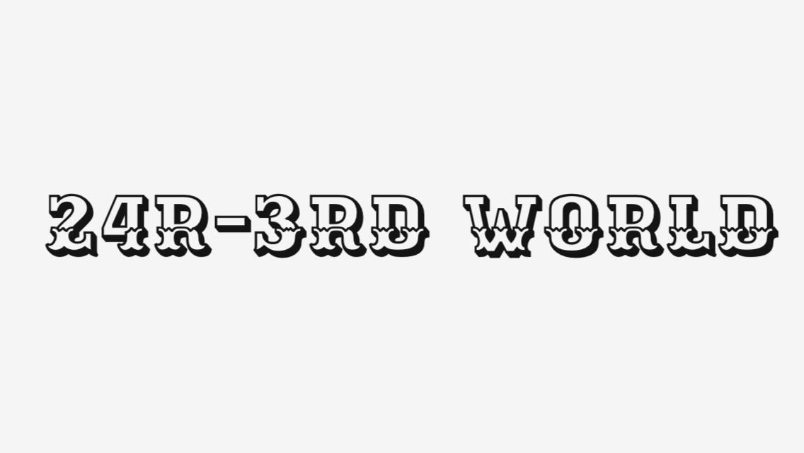 24R-3rd World