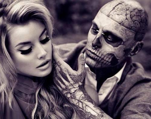 Zombie Girl Tattoo Tumblr Tattoo Lovers of the W...