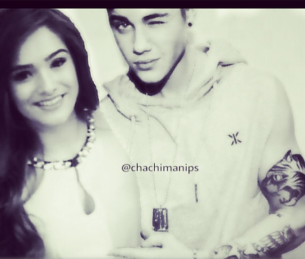 chachi gonzales and justin bieber meet greet