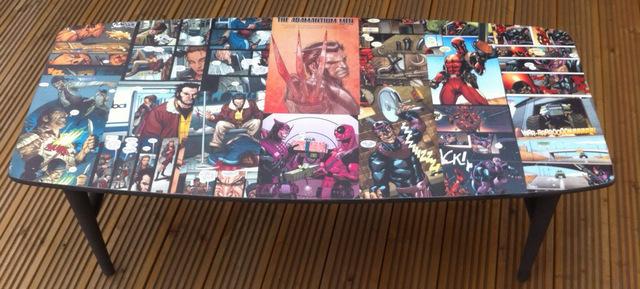 comic book furniture Tumblr