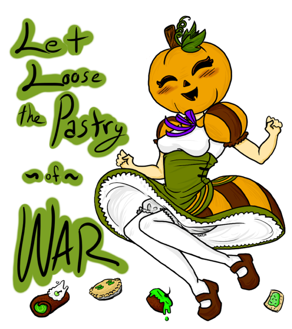 Let Loose The Pastry Of War