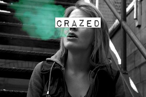 crazed.