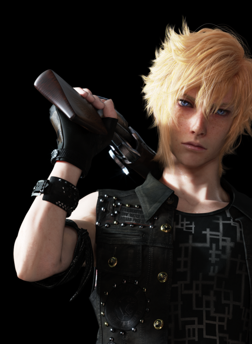 prompto s shirt tag says the f word final fantasy xv message