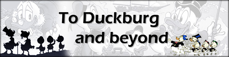 To Duckburg and beyond