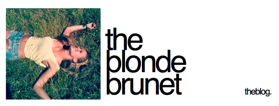 The Blonde Brunet