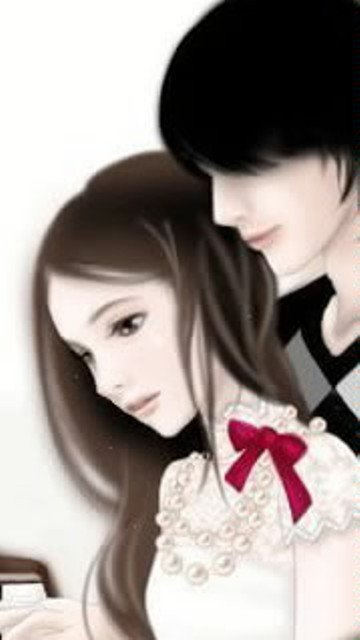cute Love couple Hd Wallpaper Animated : Love Is Blind