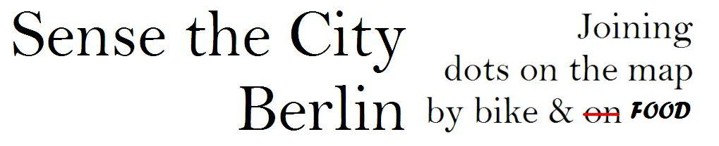 Sense the City - Berlin