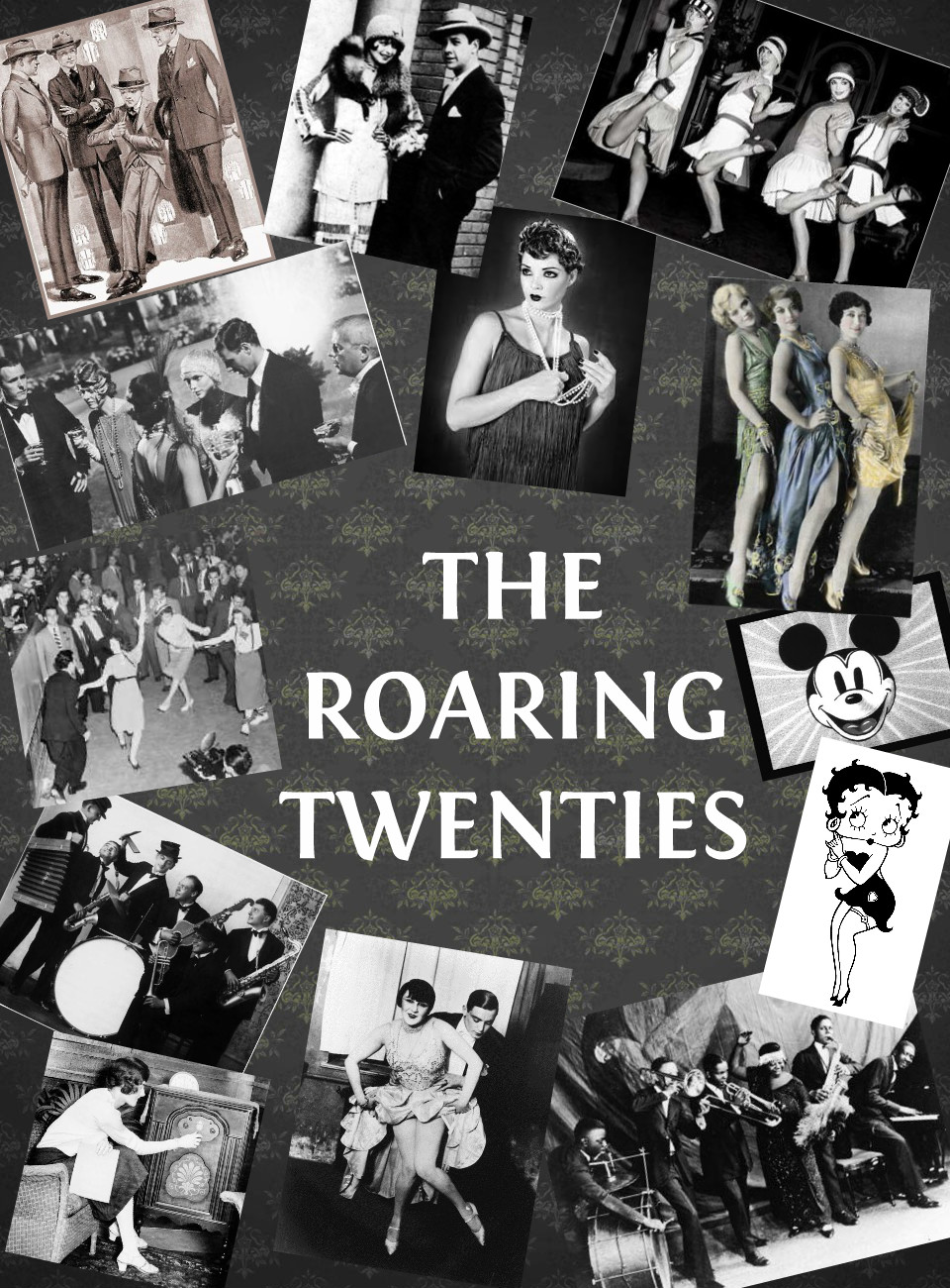 roaring 20s notes (2-cd set) the 1920s was the jazz age, when white americans discovered the  syncopated rhythm that african-american musicians had been improvising for.