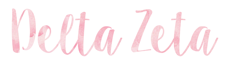 Delta Zeta Sticker Set | A-List Greek Designs