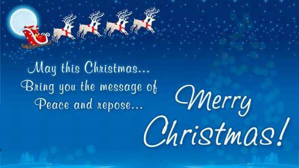 Merry Christmas Quotes Wishes Messages 2014 Amazing Pictures