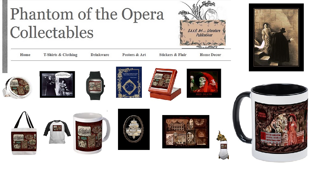 Unique and Phun Phantom of the Opera Gifts
