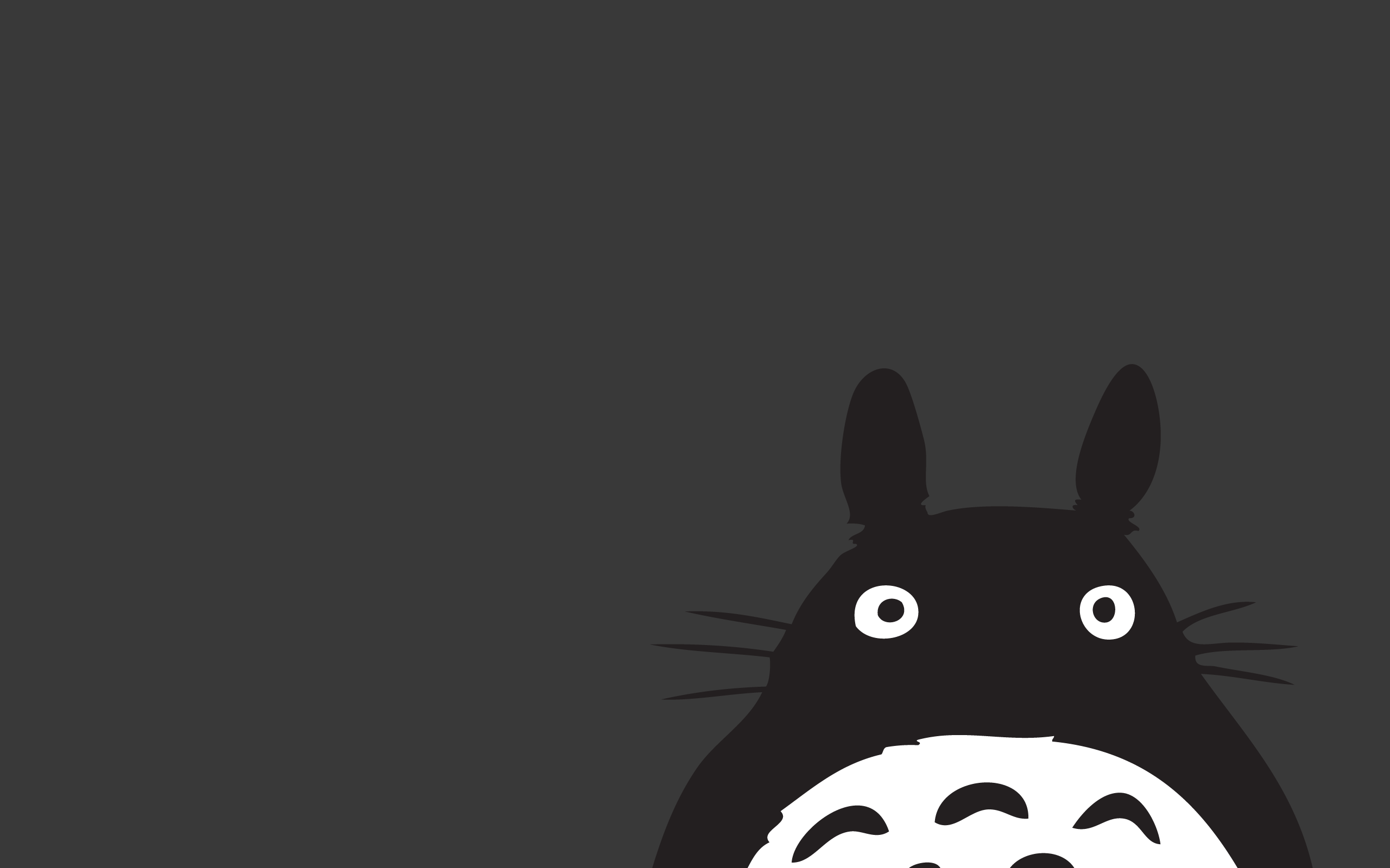 Must see Wallpaper Horse Minimalist - tumblr_static_totoro  Collection_604444.png