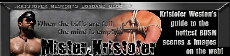 Mr Kristofer Bondage Blog