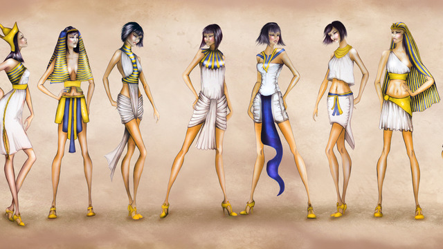 an overview of the ancient egyptian fashion and the fashionable hairstyles Egyptian headwear - fashion, costume the ancient egyptians cared very much in addition to wigs and varying hairstyles, egyptians wore different types.
