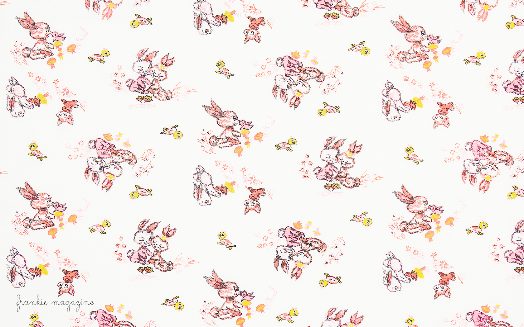 Rabbit Cake Pattern