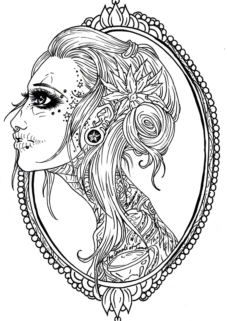 sugar candy skulls coloring pages - photo#19