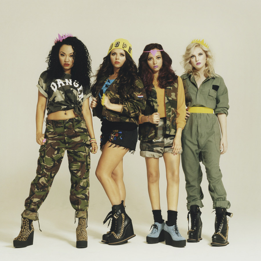 Little mix photo shoot