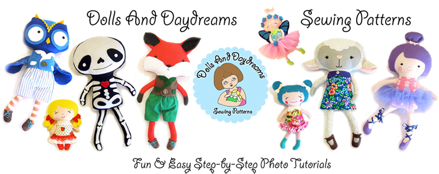 Dolls And Daydreams Sewing Patterns