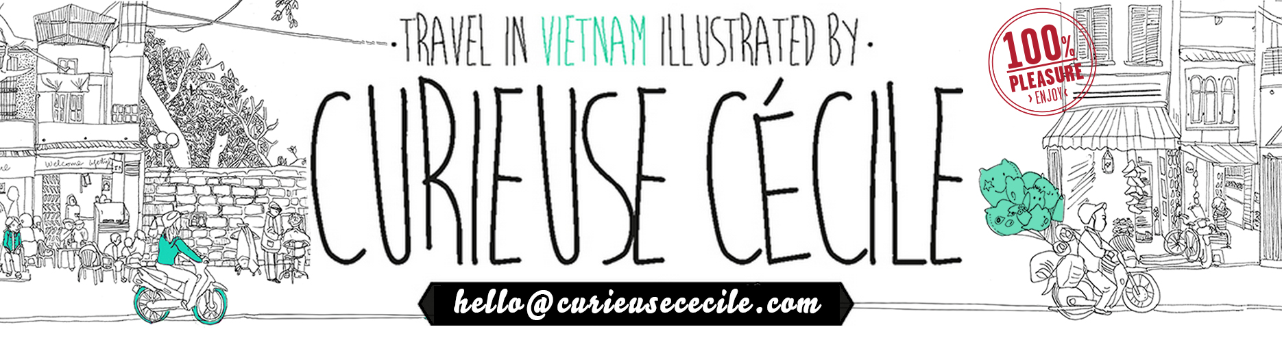 Travel In Vietnam With Drawings