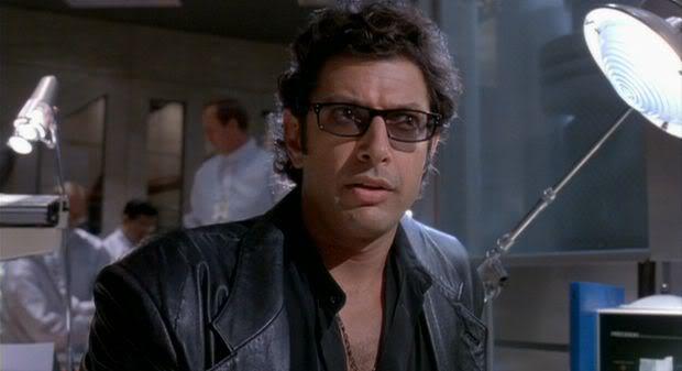 Ian Malcolm, Jurassic Park