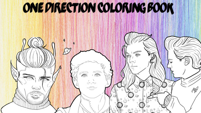 Small Artists 1D Coloring Book
