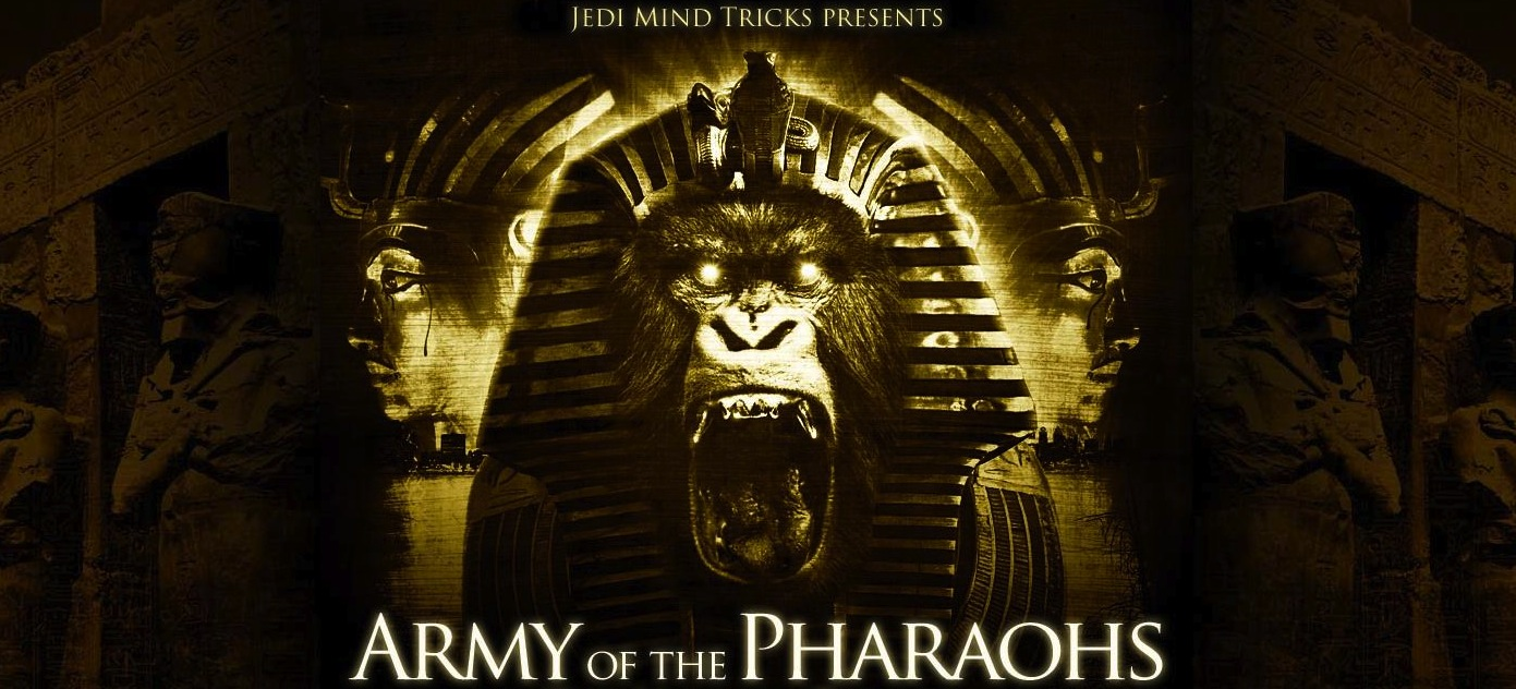 Army Of The Pharaohs header1  Home  Buy Army of