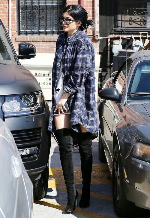 Kylie Jenner Street Style Tumblr Images Galleries With A Bite