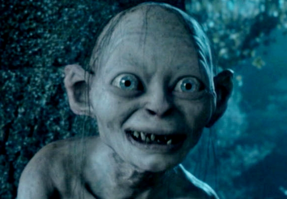 Smeagol lord of the rings smiling