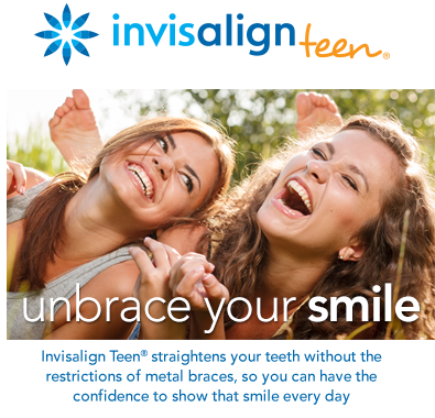 Invisalign teen effectively straightens teeth are