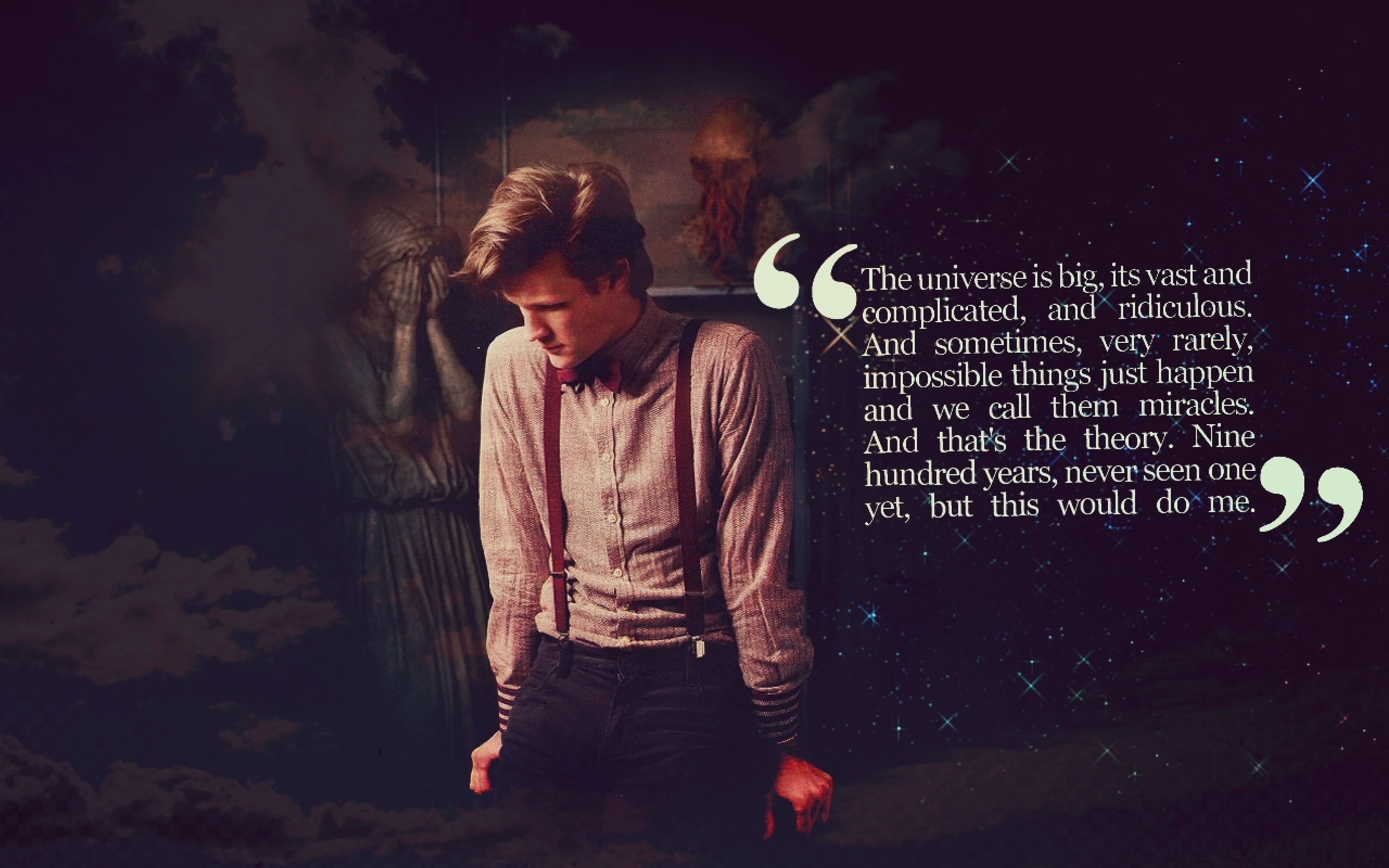 Matt Smith Doctor Who Quotes: Another Story Must Begin