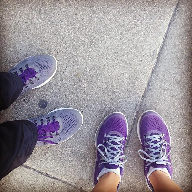 I ♥ to run.