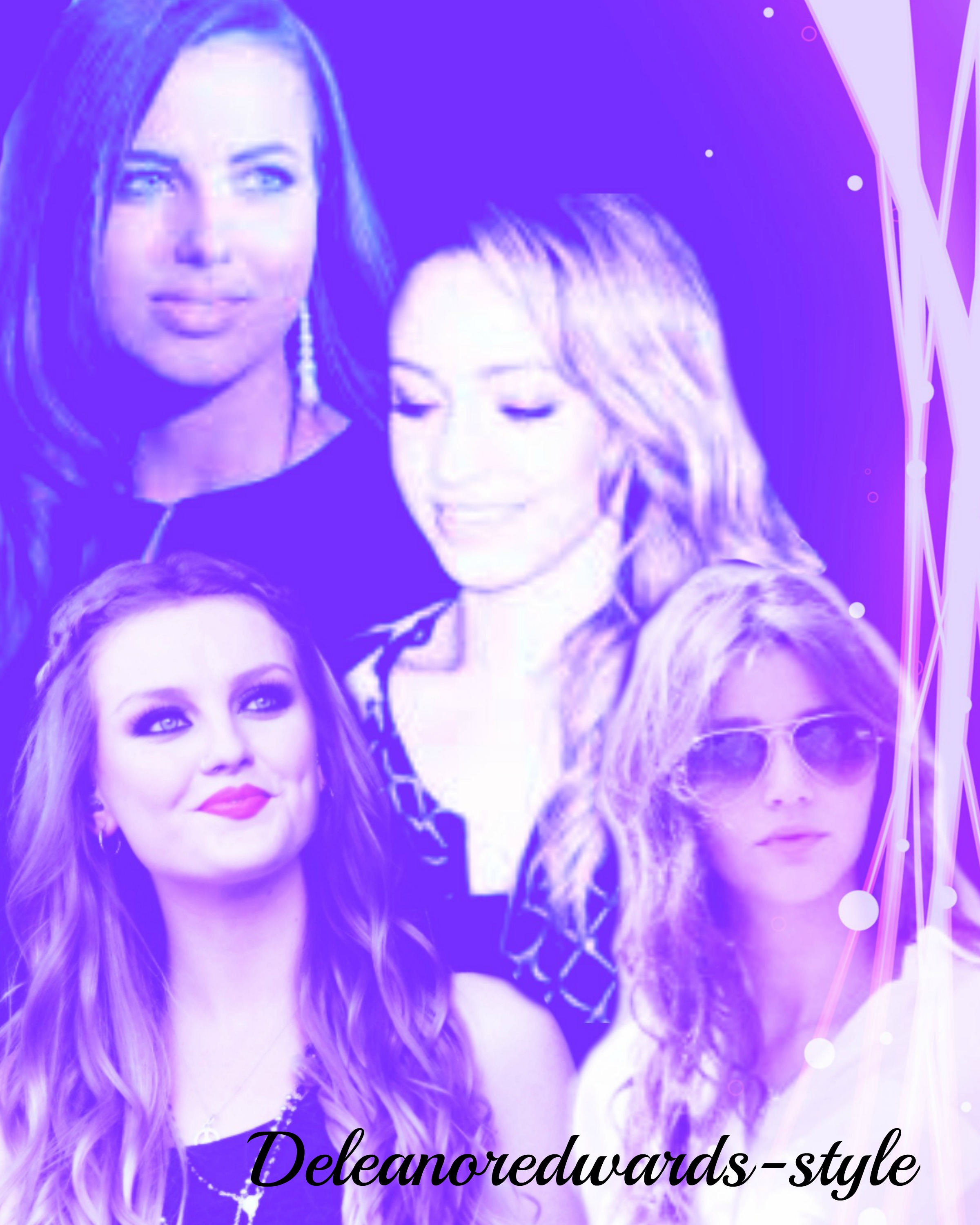 Danielle peazer and eleanor calder and perrie edwards