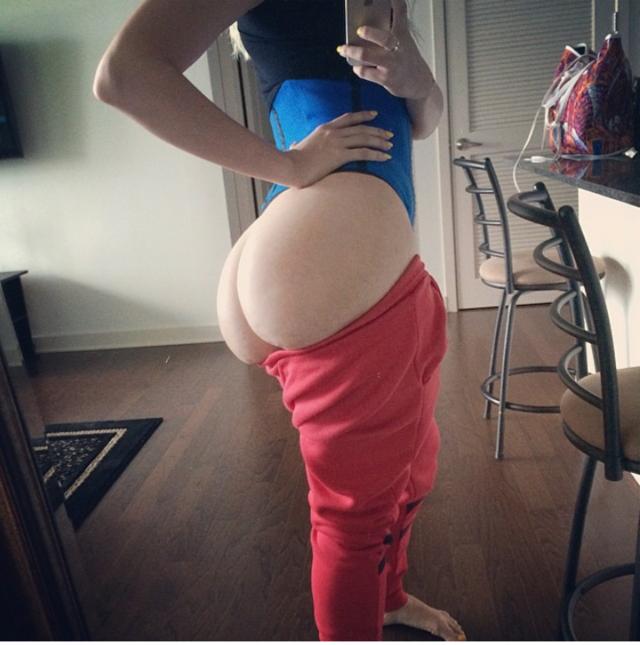 White Girl Booty Tumblr