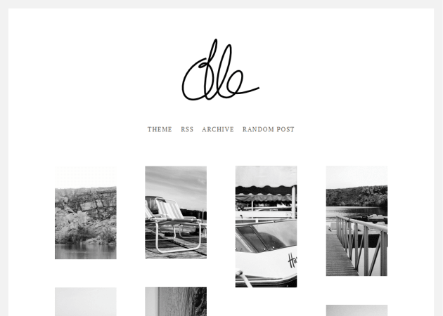 Olle Ota Themes Free Tumblr Themes