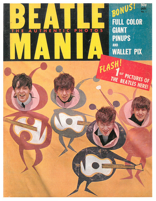Posters Of The Beatles