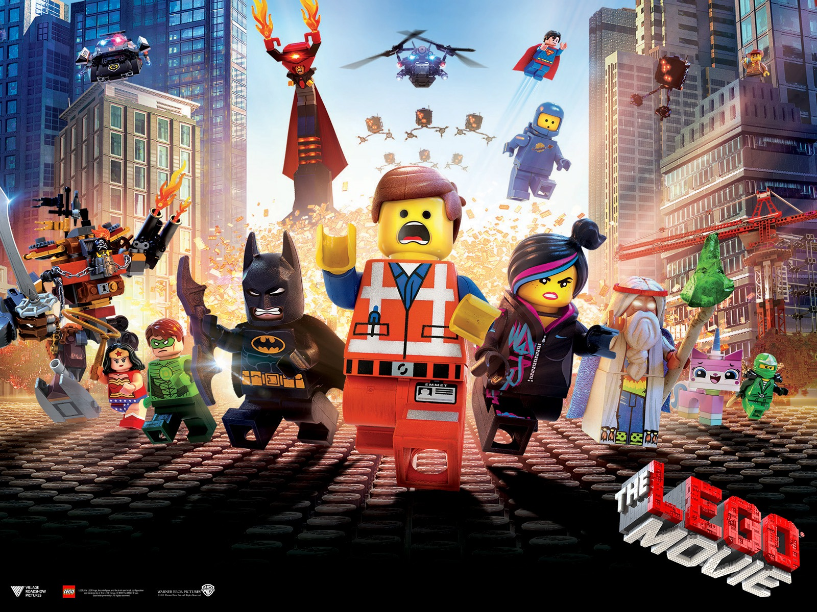 Heck Yeah The Lego Movie