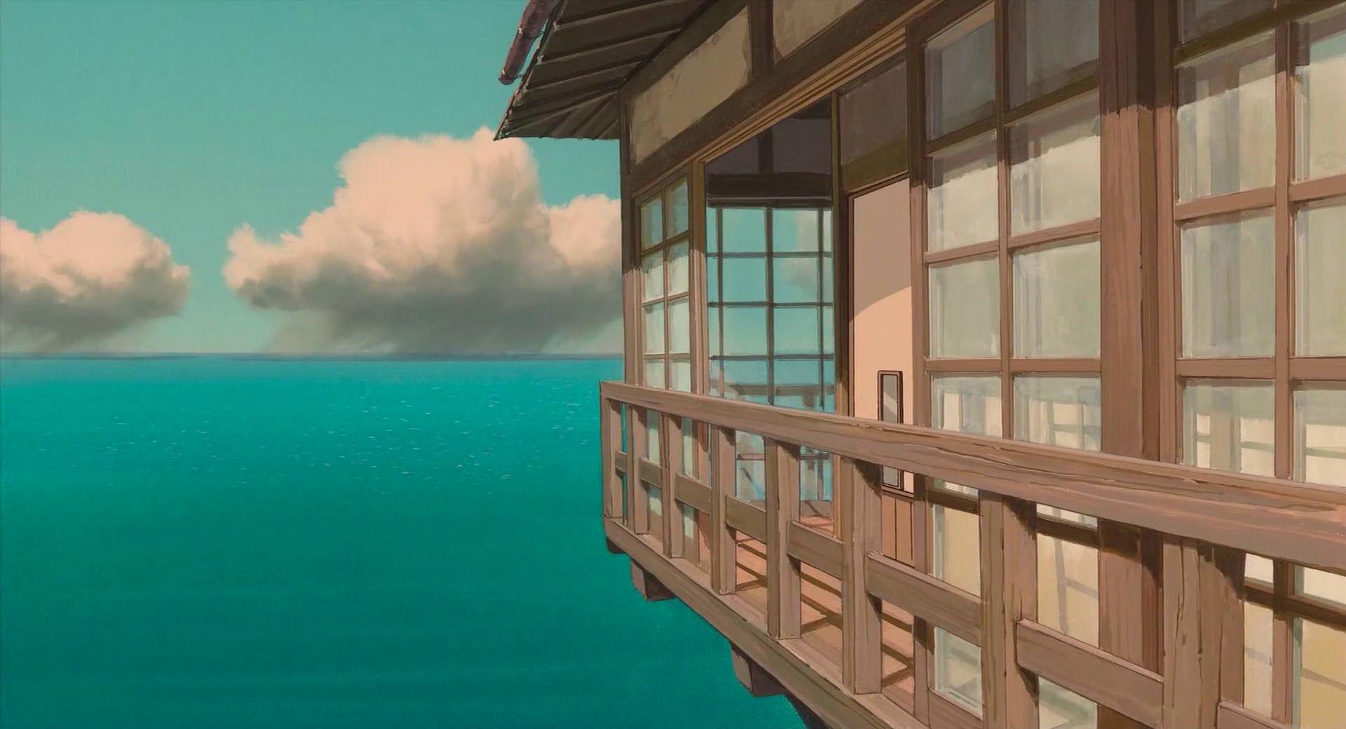 Sea House Spirited Away 3840x2160 Wallpapers