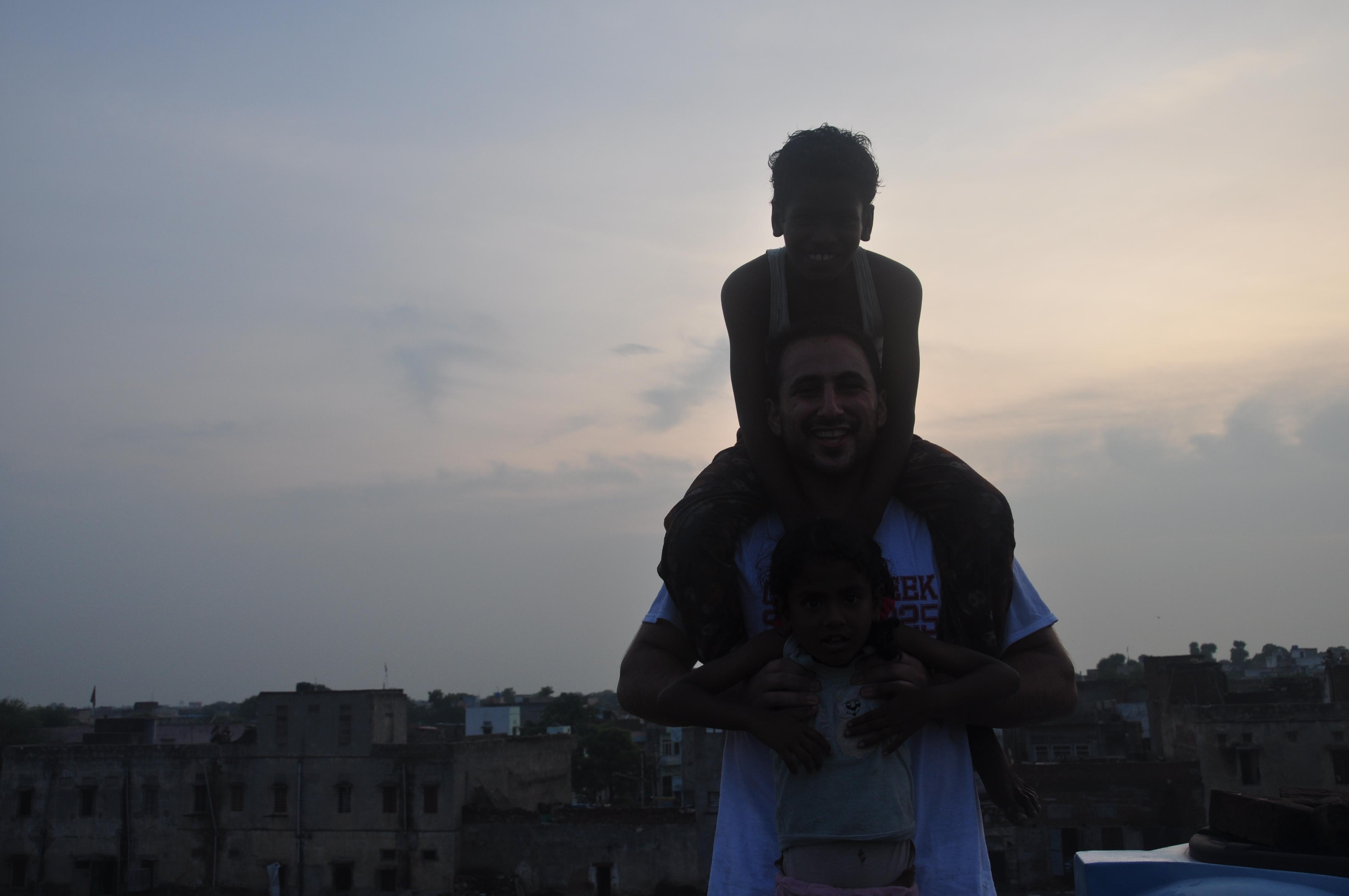 Eric In India