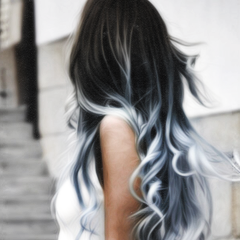 tie dye hair tumblr images galleries with a bite. Black Bedroom Furniture Sets. Home Design Ideas