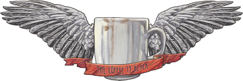 The Coffee Is Black