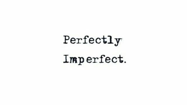 Risultati immagini per imperfect tumblr