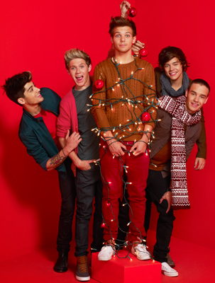 One Direction Christmas Tree