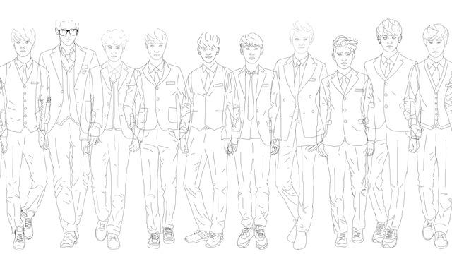 Kpop dating sim tumblr drawings