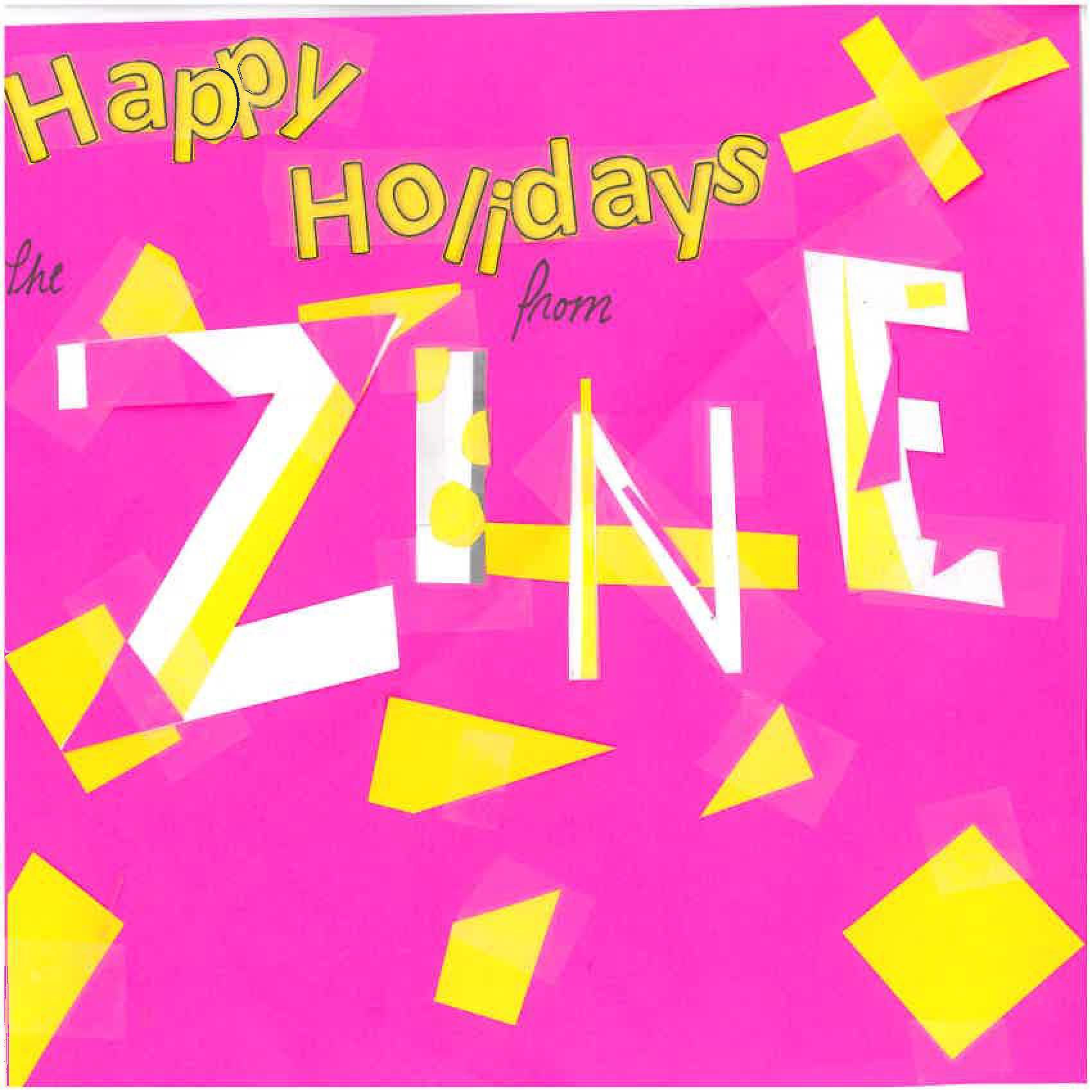 Coalition Zine