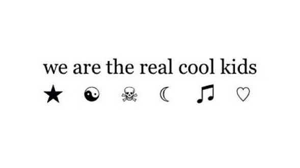 Cool kids quote tumblr cool kids quotes stopboris Image collections