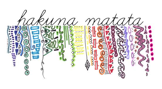 Hakuna Matata Tumblr
